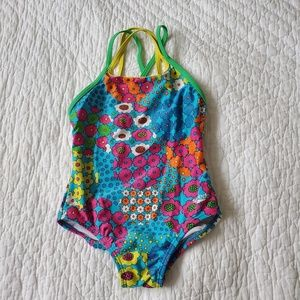 Girls One-Piece Speedo size 6